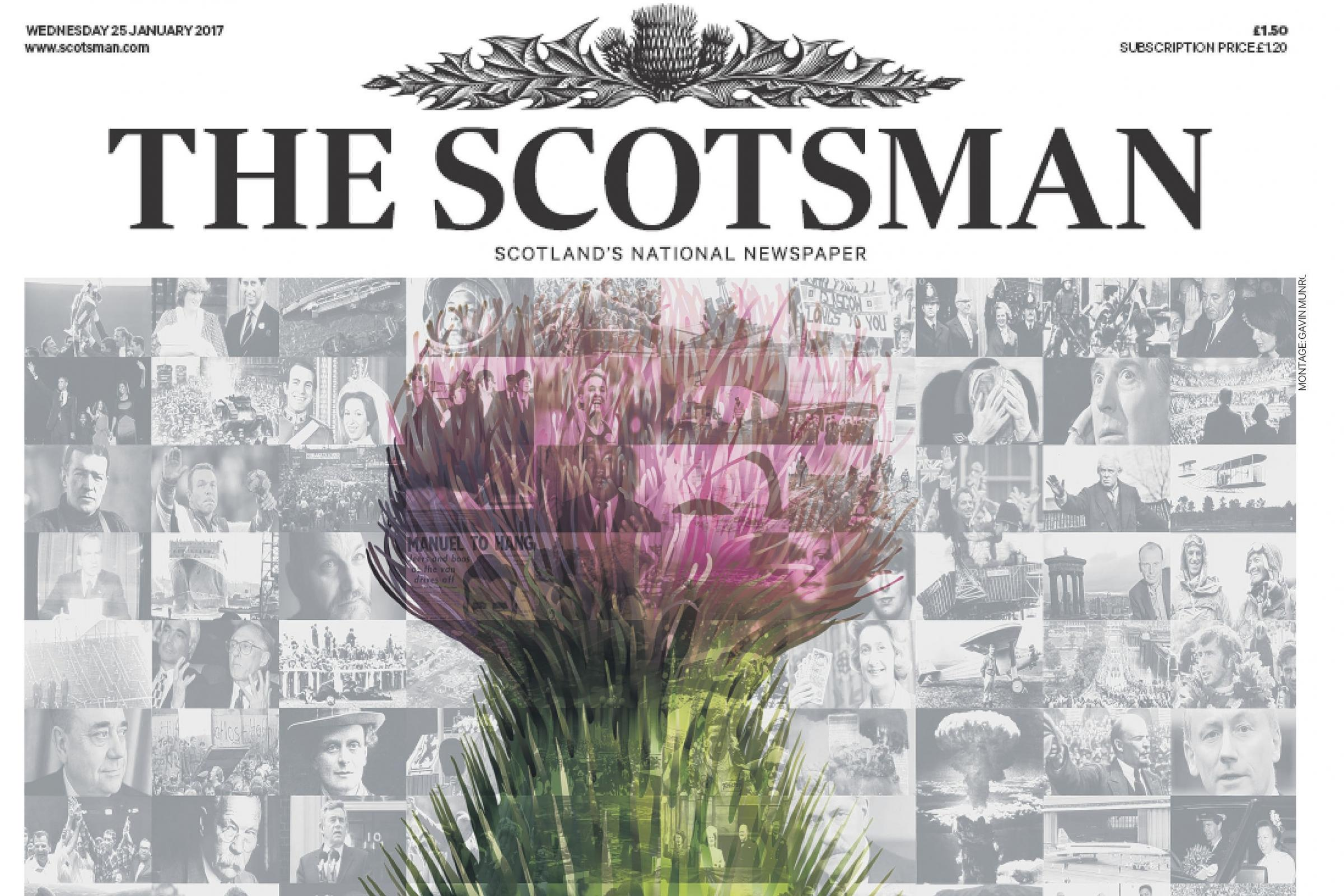 The Scotsman newspaper owner puts itself up for sale after months of speculation