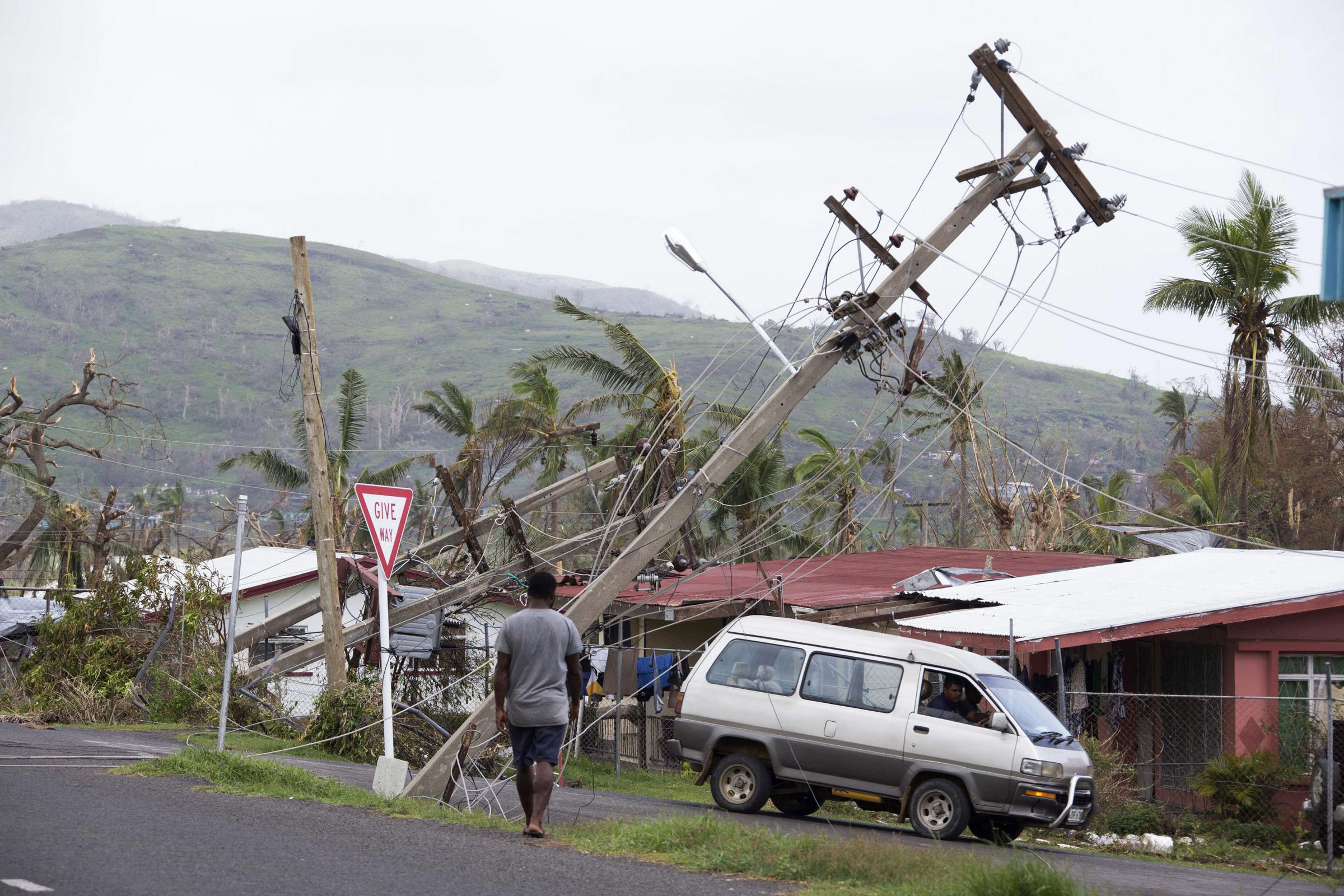 Cyclone Winston devastated Fiji in 2016