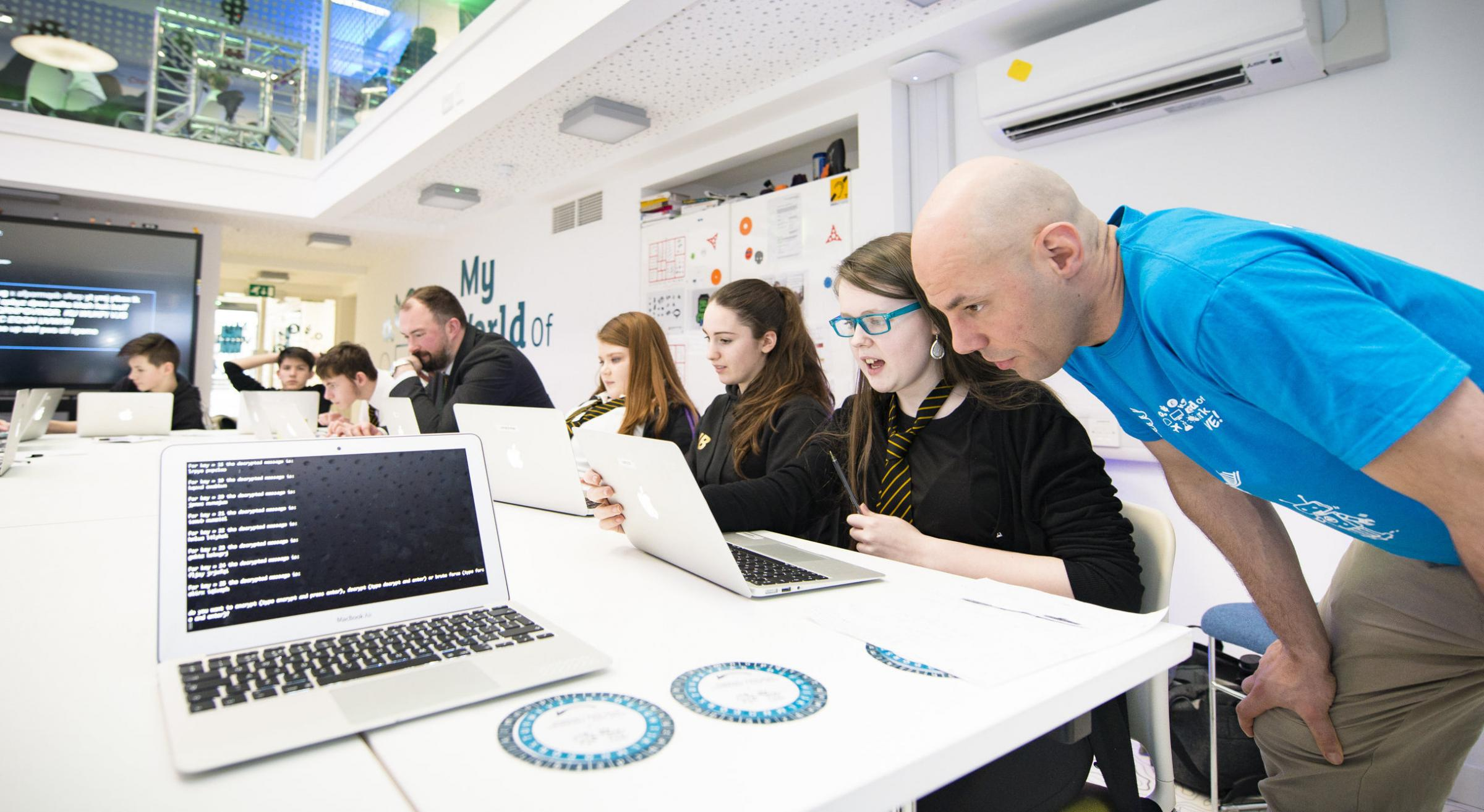 School students in Inverness learn new digital skills