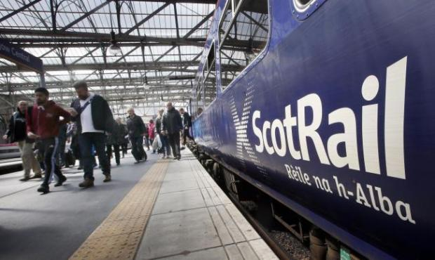 ScotRail blamed recent disruption on training delays and a trade dispute