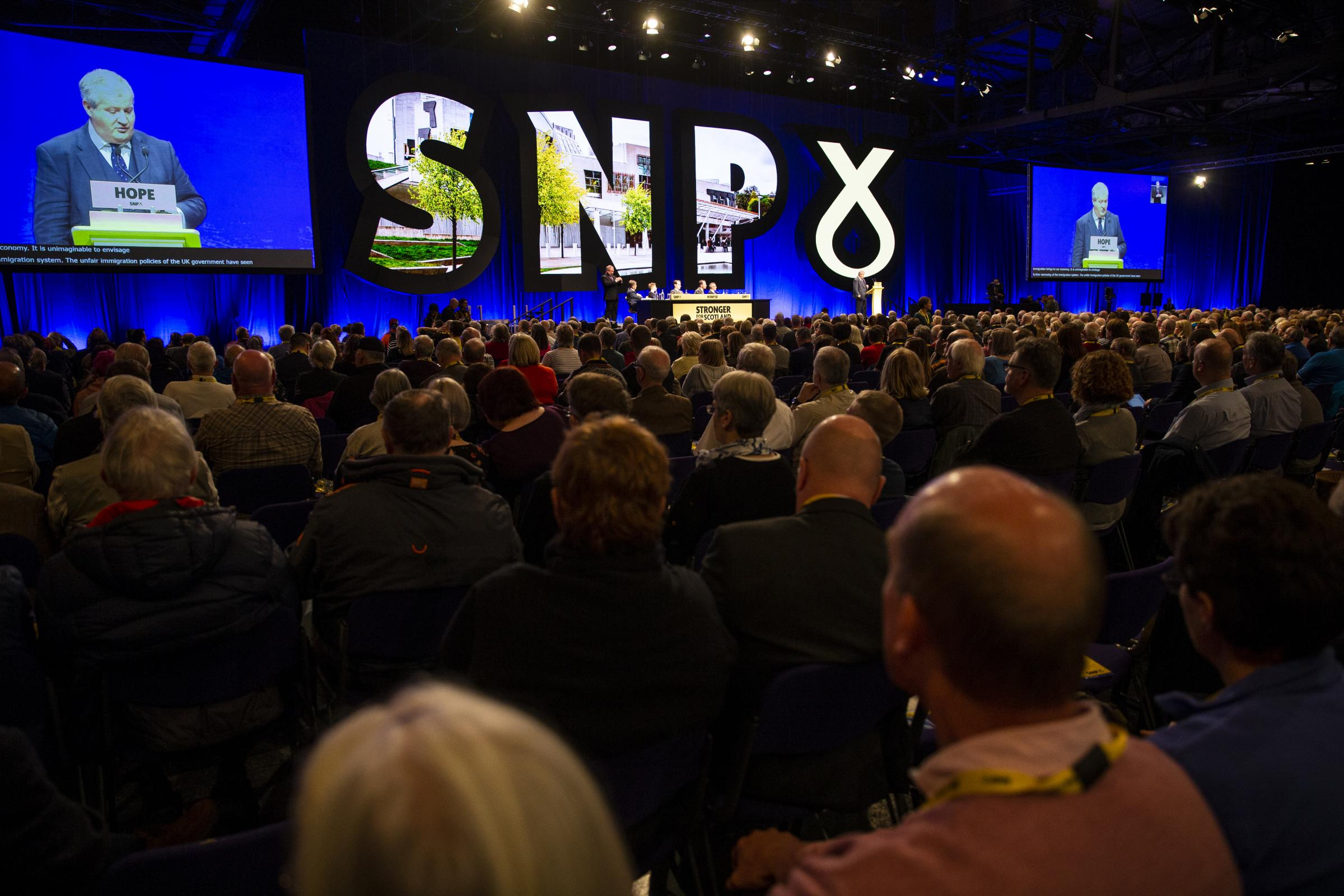 The SNP conference has been taking place in Glasgow since Sunday