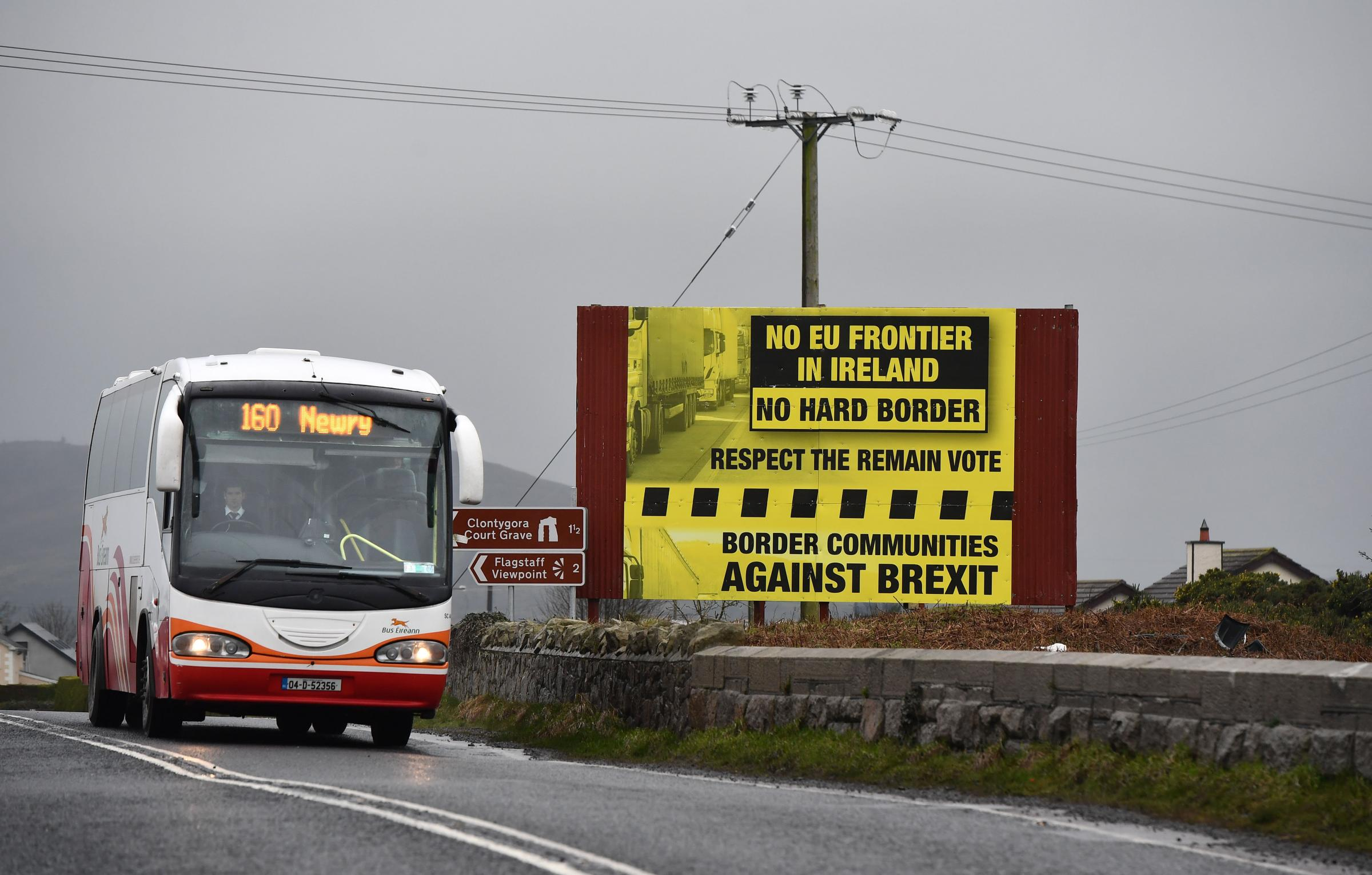 The lawyer called for a common rule book that can be interpreted the same on both sides of the Irish border. Photograph: Getty