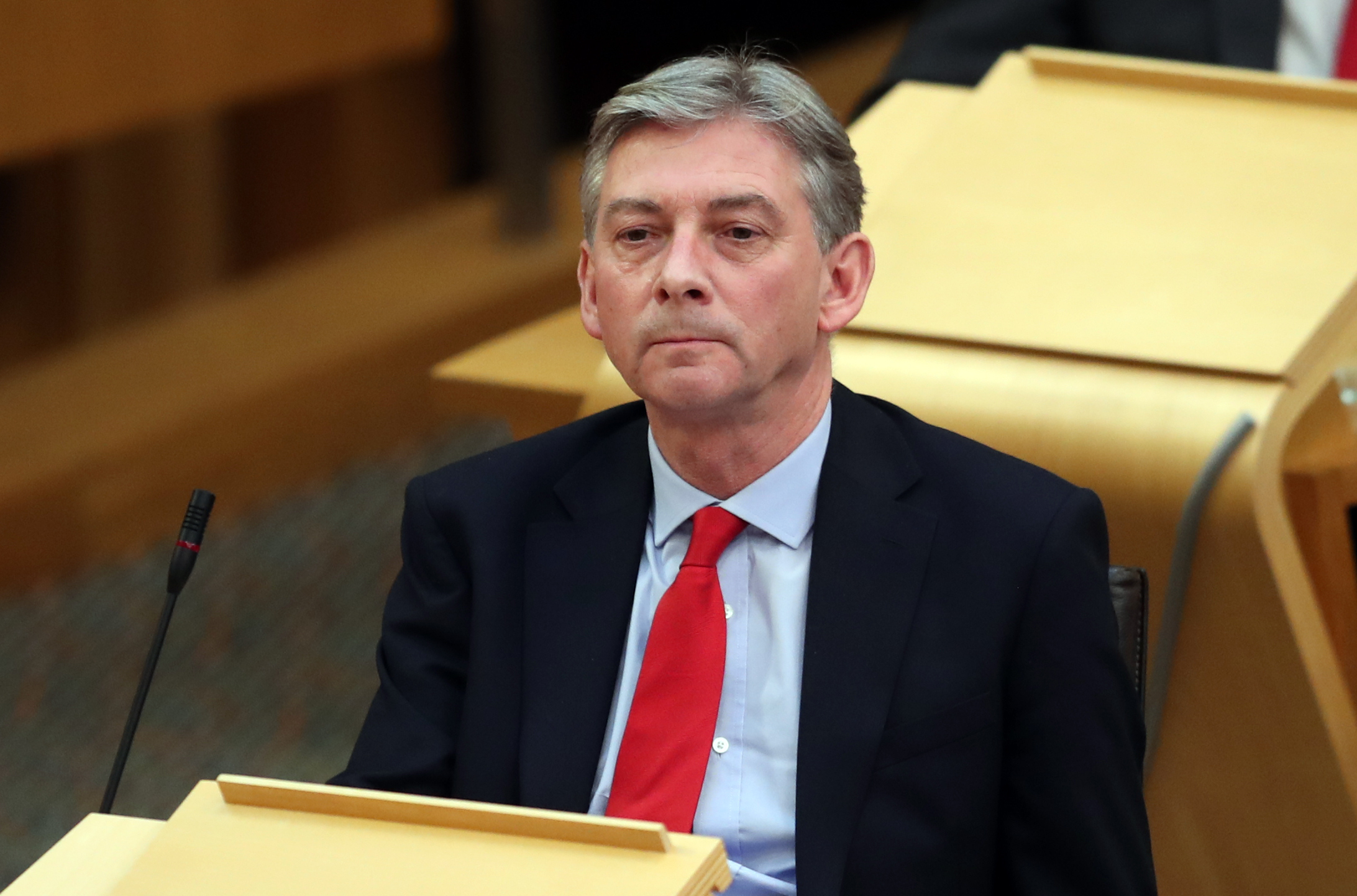 Richard Leonard tweeted his solidarity ... it didn't go down well