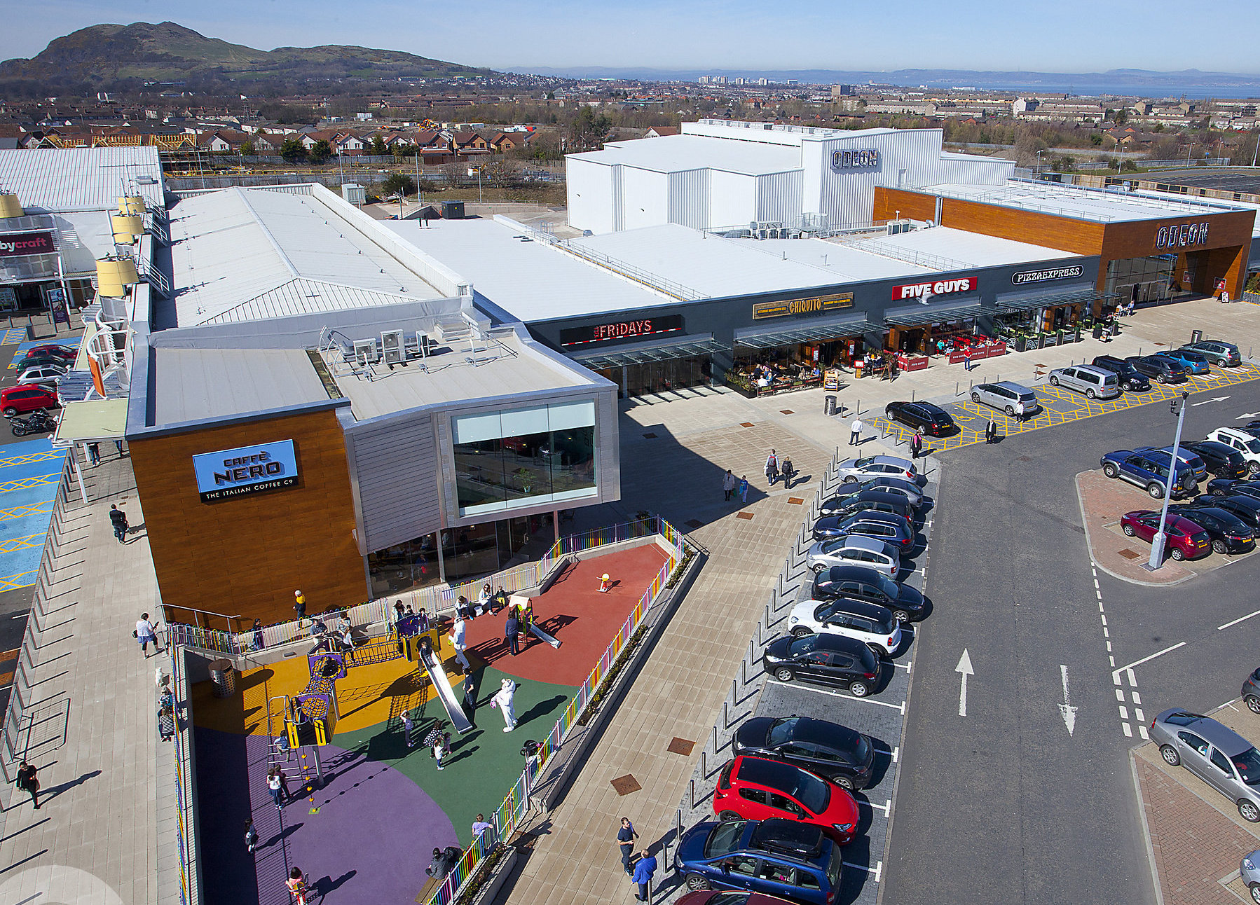 New figures reveal a marked improvement in the Scottish retail sector