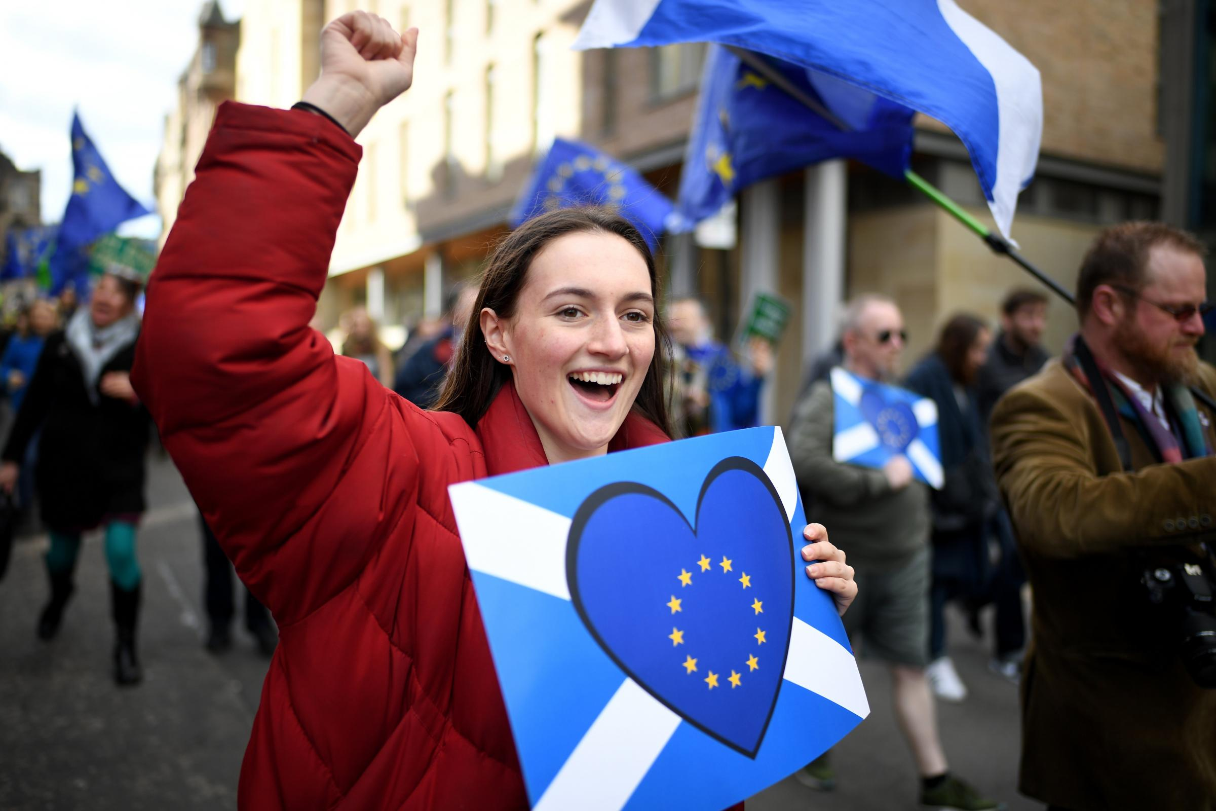 Scottish people voted overwhelmingly to remain in the EU