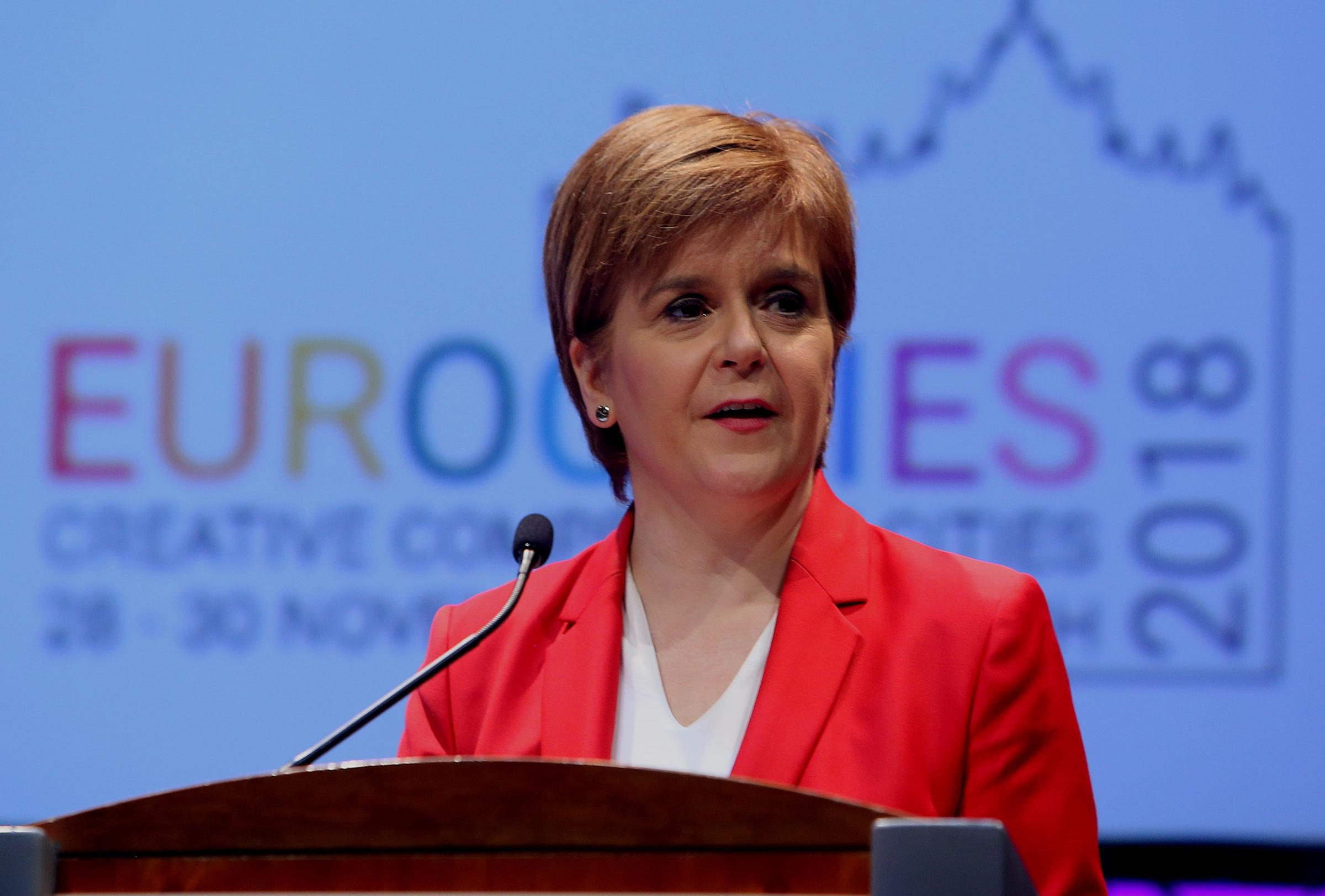First Minister Nicola Sturgeon has been pushing for Scotland to get its own arrangement
