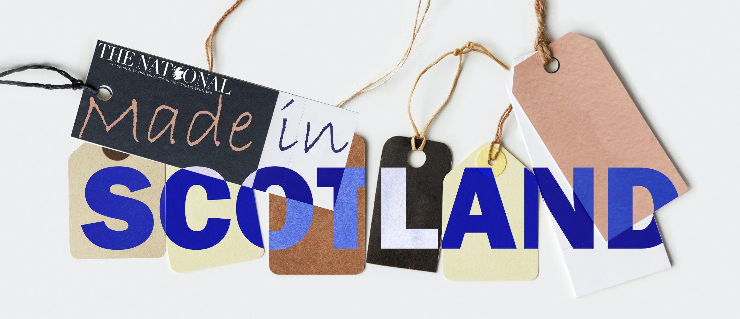 Our new monthly round-up of gift ideas from Scottish firms and independent makers ... without a Union flag in sight!
