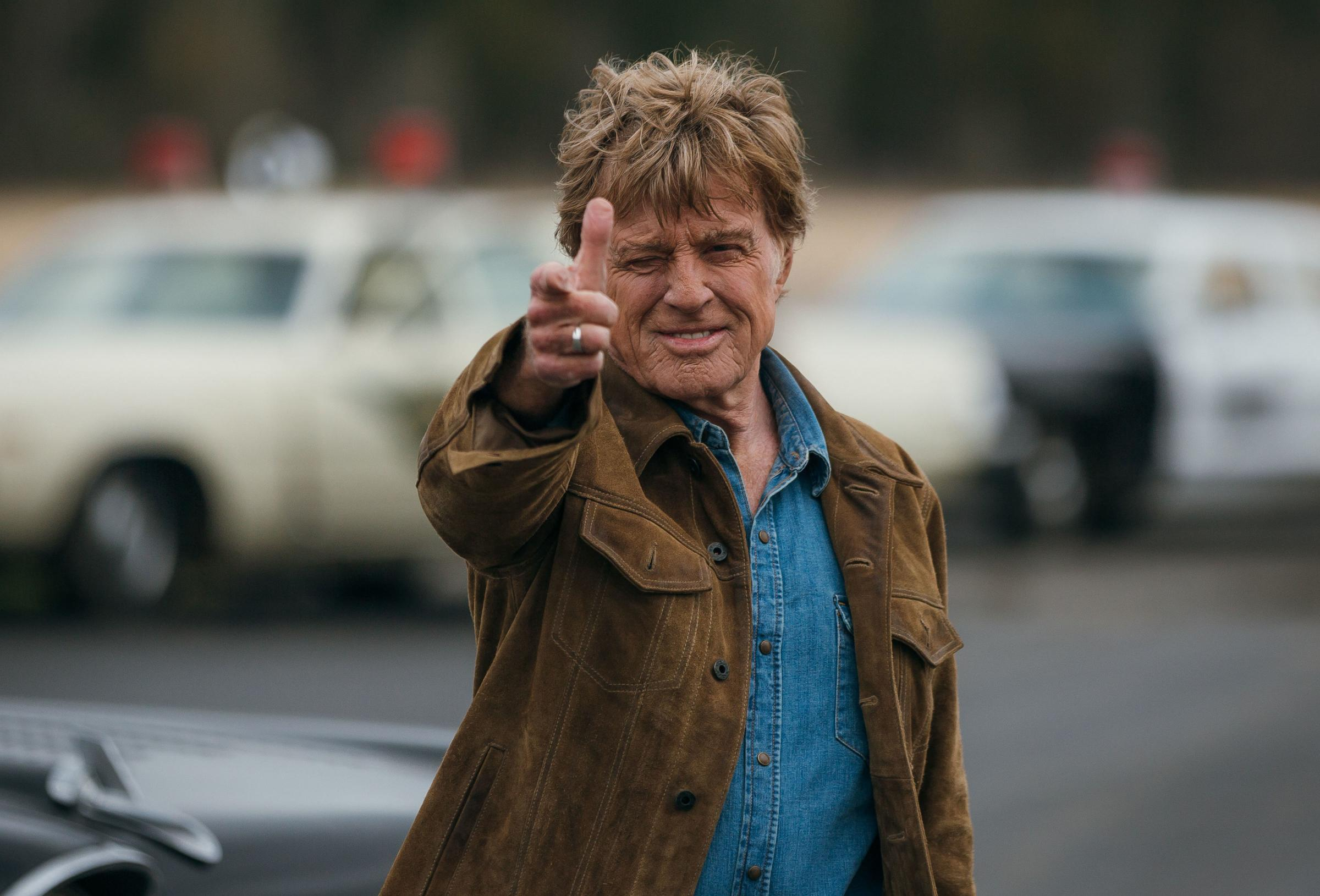 Robert Redford oozes natural charisma as a man finding peace in his twilight years