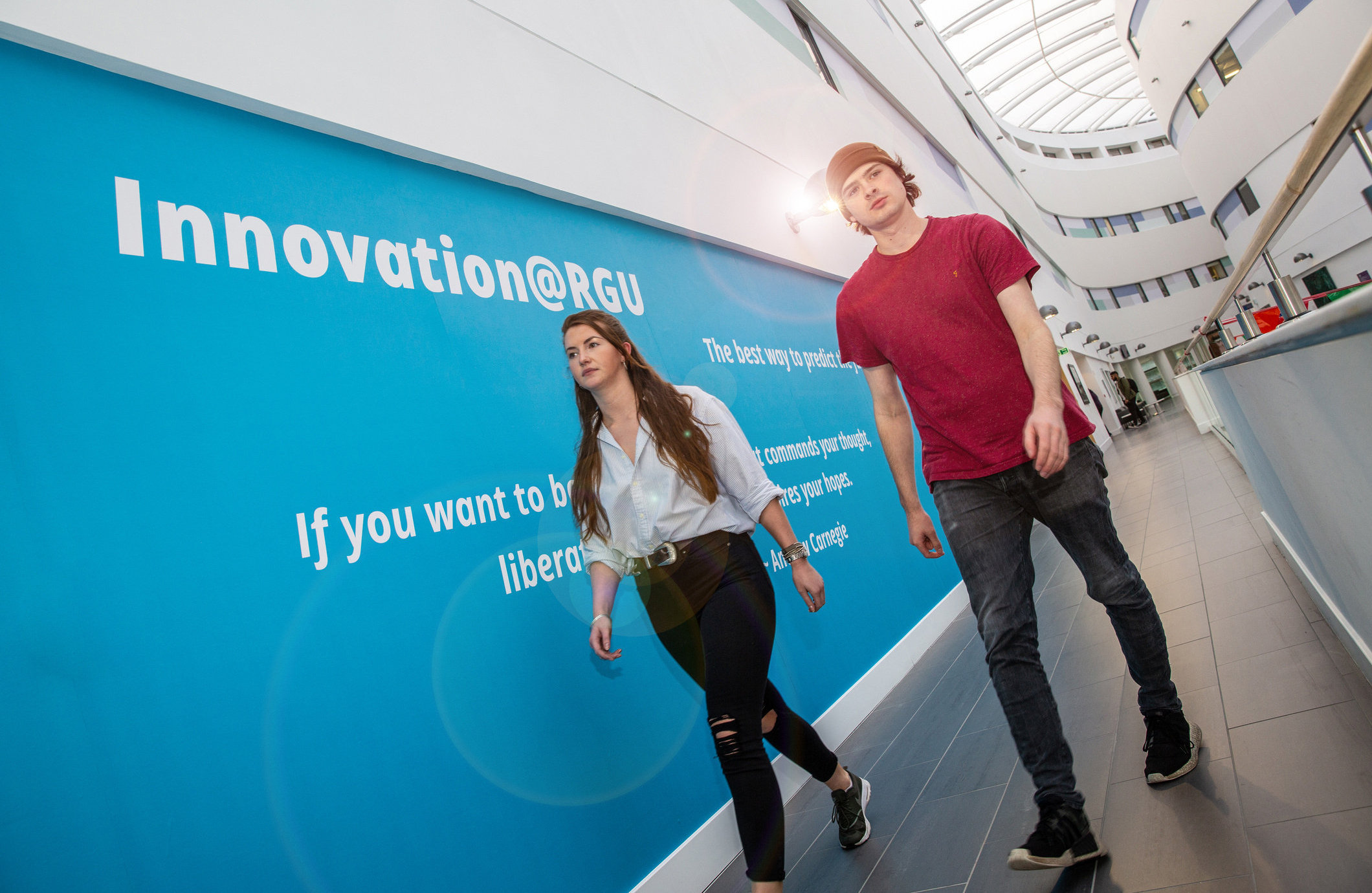 The RGU initiative will provide 28 business teams with mentorship and up to £10,000 in funding